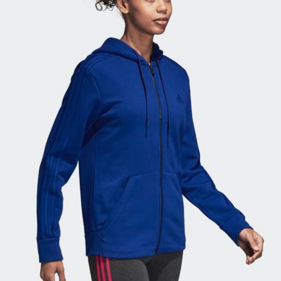 adidas Tops - WOMEN'S TRAINING 3-STRIPES HOODIE